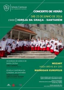 Concerto de verão @ Igreja da Graça | Santarém | Distrito de Santarém | Portugal