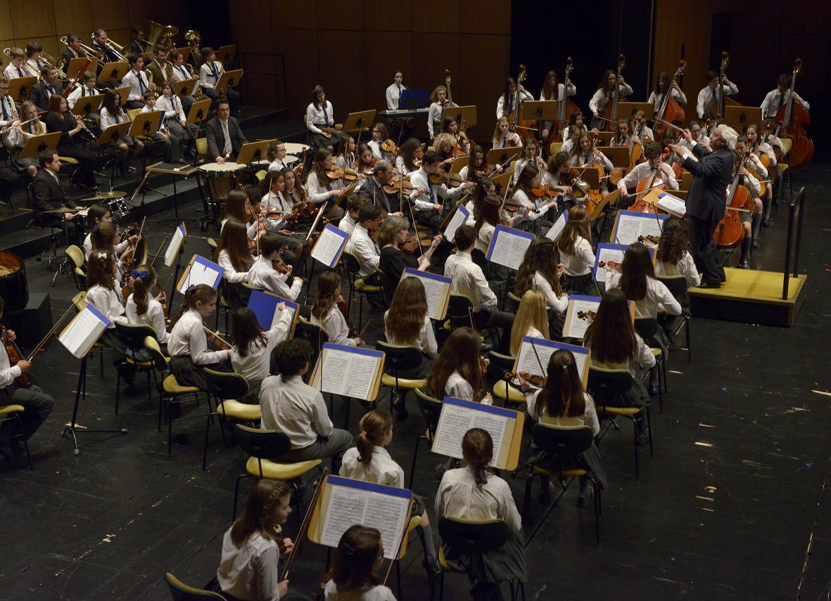 Concerto das Orquestras 31 de janeiro de 2017 às 18h00 no Auditório do Colégio S. João de Brito