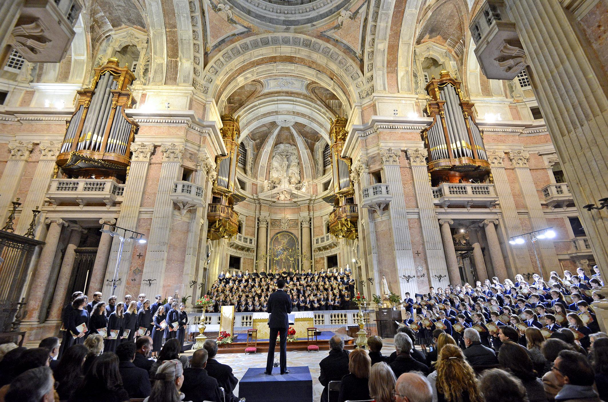 Concerto de Natal 2016 – Basílica do Palácio Nacional de Mafra