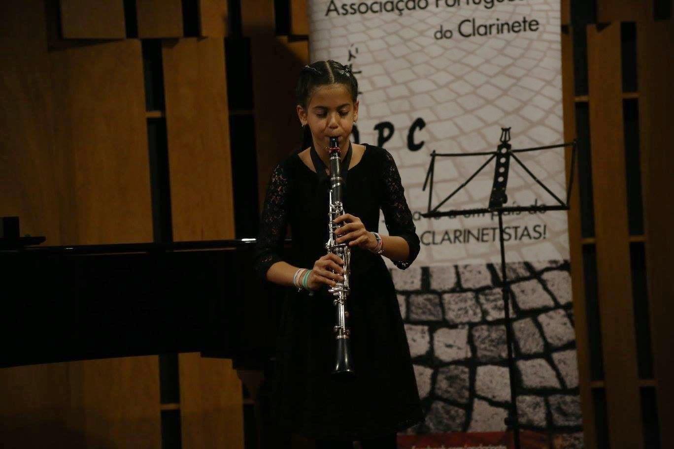 VI Concurso Nacional De   Jovens  Clarinetistas 17 de dezembro de 2016 Categoria Infantil– 1º Prémio Carolina Neves
