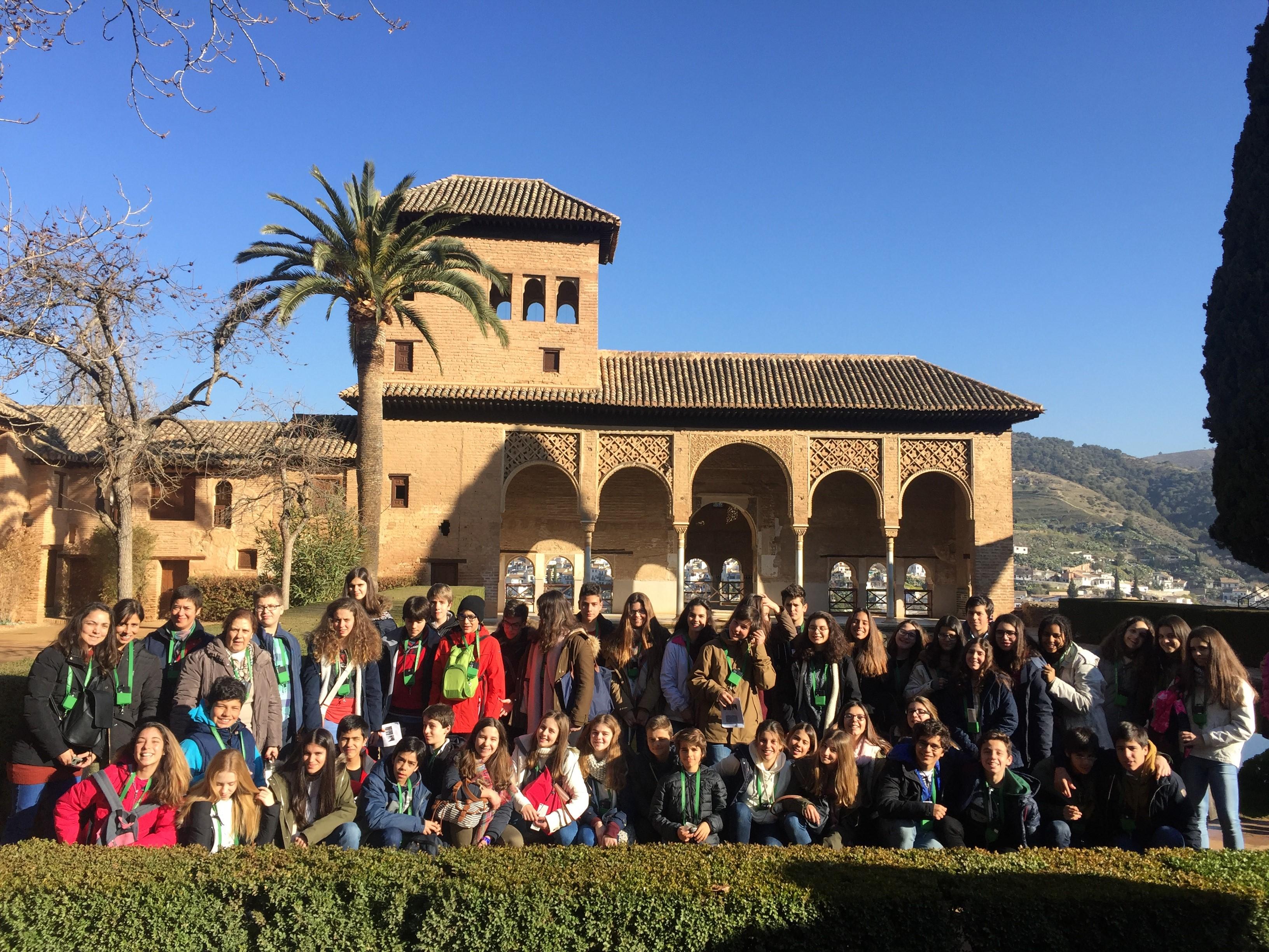 Visita de Estudo a Sevilha, Granada e Córdova