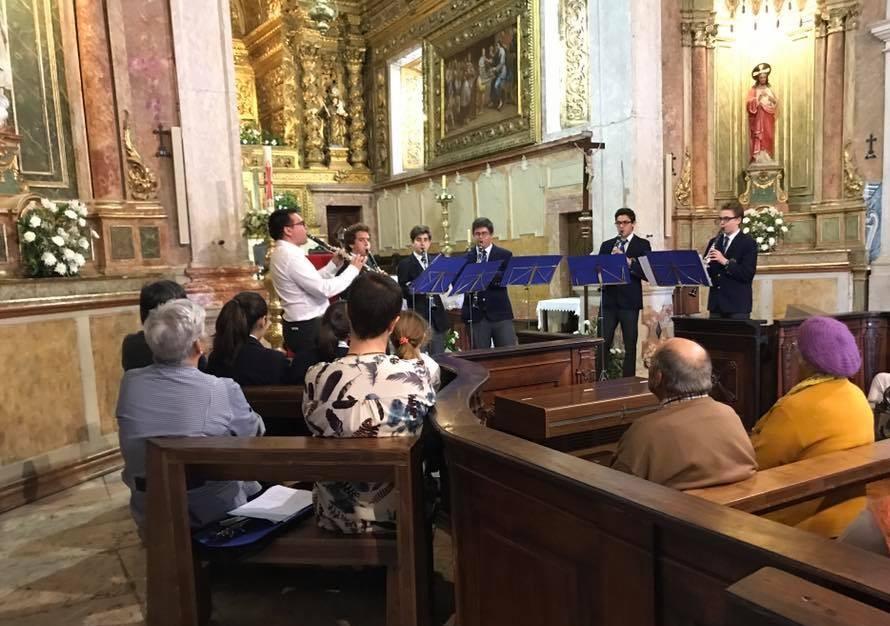 Concerto solidário para o Centro Social e Paroquial da Ameixoeira – 26 de Abril de 2017